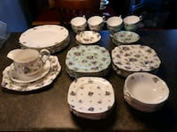 China set, Royal Albert,Lilac Lane pattern-REDUCED 554 km