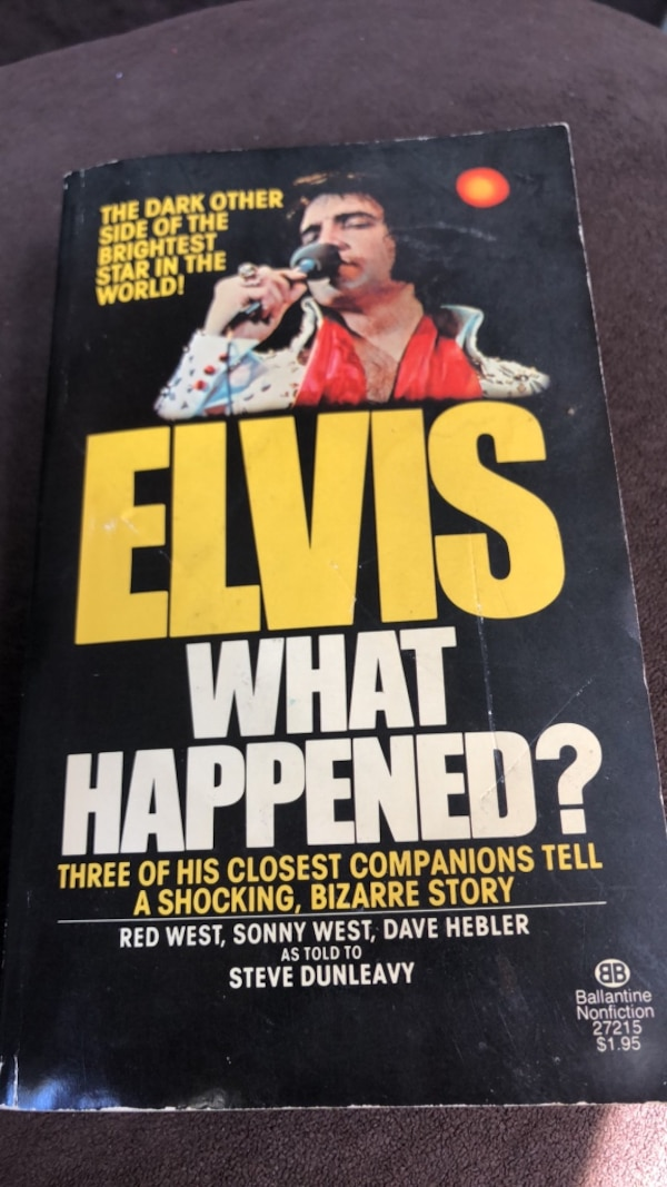 Elvis What Happened first edtion 1977