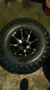 Golf cart tires and would fit side by side Herminie