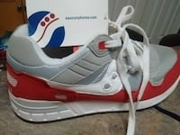 pair of white-and-red Saucony.sneakers Kelowna, V1X 7Z6