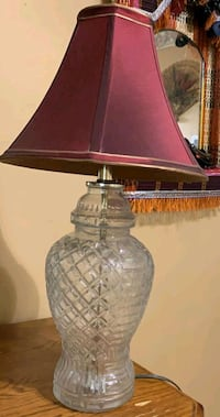 Glass Table Lamp  Springfield