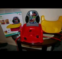 Feeding Booster Seat. CARS 2- in-1  ( Original Packaging) Alexandria, 22310