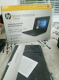 """Hp Stream Notebook, 14""""HD display. Centreville, 20121"""