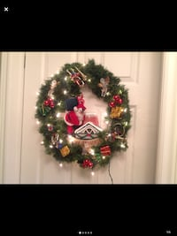 """Lighted Wreath Approx. 20"""""""