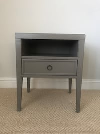 Taupe Side Table