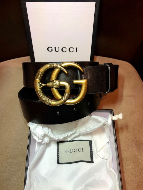 ad11d944deb866 Used Gucci Snake Belt Size 32-34 for sale in New York - letgo