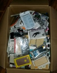 large box of phone cases and screen protectors Smyrna, 37167