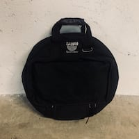 "22"" BLACK FUR-LINED SABIAN CYMBAL BACKPACK BAG Vancouver, V5N 1B1"
