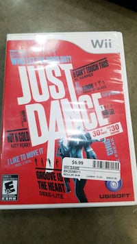 Wii just dance Ajax, L1S 3V4