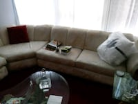 gray and white sectional couch Detroit, 48238