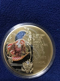 Star-Spangled Banner Colossal Commemorative Coin