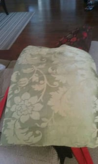 Green table cloth from bed bath beyond