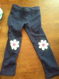 blue and white floral pants Anderson, 96007