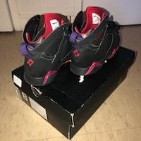 black and red Air Jordan basketball shoes with box Toronto, M1K 2B8