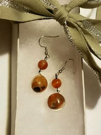 Moonstone and Agate Earrings  Dayton, 45405
