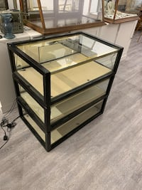 "BLACK TRIM DISPLAY CASES (24"" x 12"" x 36"") Vancouver, V5N 4A3"