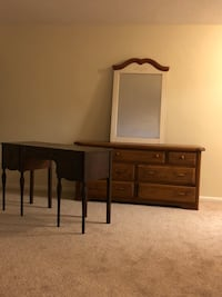 Large Dresser, vanity table and mirror for sale Silver Spring, 20910