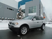 2004 BMW X3 2.5i AWD AUTOMATIC FULLY LOADED LOOKS AND RUNS GREAT NEW WESTMINSTER, V3M 0G6