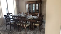 brown wooden dining table set Woodbridge, 22193