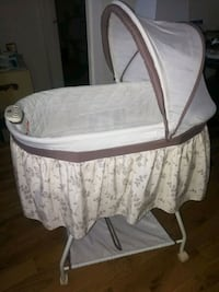 FREE used bassinet and barely used baby rocking na