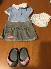"""18"""" doll our generation girl clothes grey skirt outfit  Niagara Falls, L2H 2E5"""