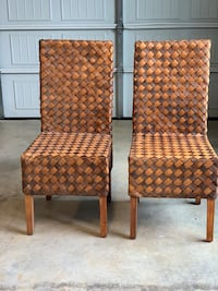 Accent Chairs (Woven Pine) Franklin