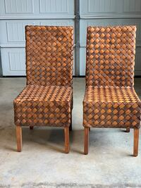 Accent Chairs (Woven Pine)