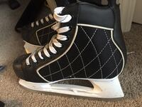Pair of black-and-white high top sneakers Edmonton, T6W 3P8