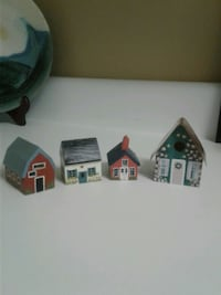 Lil' wooden houses $3ea or $10 lot Grovetown, 30813