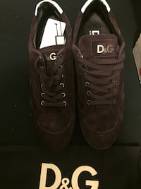 Dolce & gabbana brown sneakers