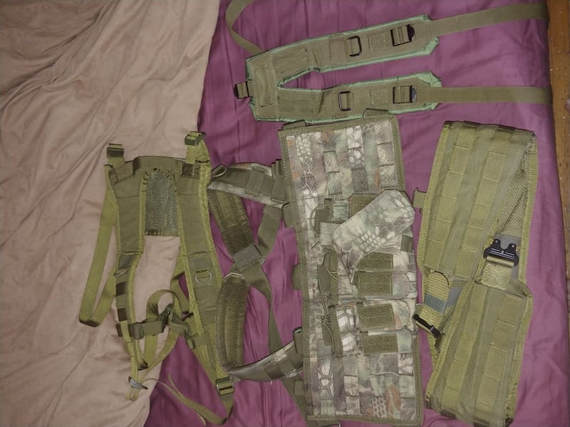 condor chest rig battle belt y and h harness  0