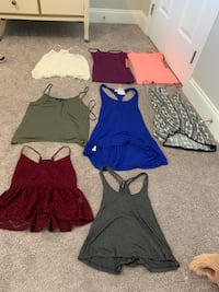 Womens xs and small clothing