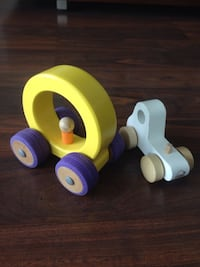 Two Wooden kids toys - WELL MADE! Toronto, M4G 1J3