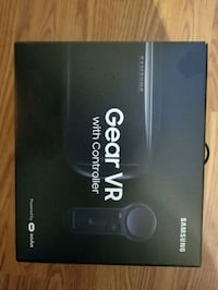 black Samsung Gear VR with controller box Andover, 67002