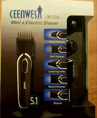 Ceenwes Electric Razor 5 in 1 Man's Grooming Kit  Suffern, 10901
