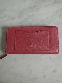 Coach Wallet New Rose Gold 553 km