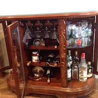 Elegant Liquor bar and display cabinet Burnaby, V5E 1P3