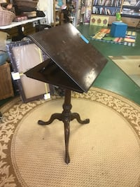 Mahogany drafting table- price reduced 50% off!! Commerce, 30529