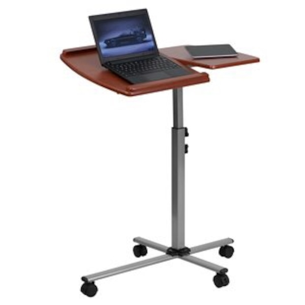 Laptop Caddy Adjustable Height