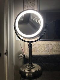 Light up double sided mirror  Surrey, V3Z 0M1