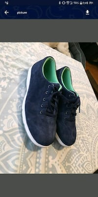 Duluth Trading Co. Womens blue Suede Shoes