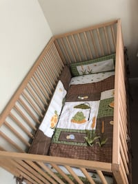 Baby Crib+ mattress + Bed set Arlington, 22206