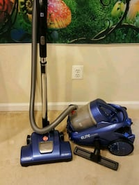 blue and black canister vacuum cleaner Middletown, 21769