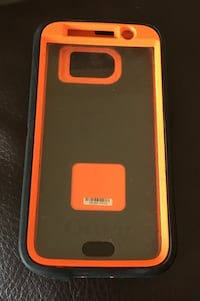 Black and orange otterbox for Samsung s6 Moncton, E1C