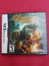 .Dangerous hunts DS game ....