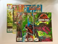 Topps Comics 1995 Return to Jurassic Park Issues 1-8 NM Daly City, 94015