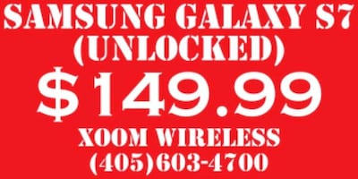 Samsung Galaxy s7 only for $149.99 right here at XOOM WIRELESS.