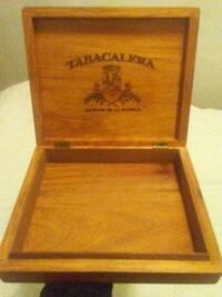 Cuban cigar wood box 3751 km