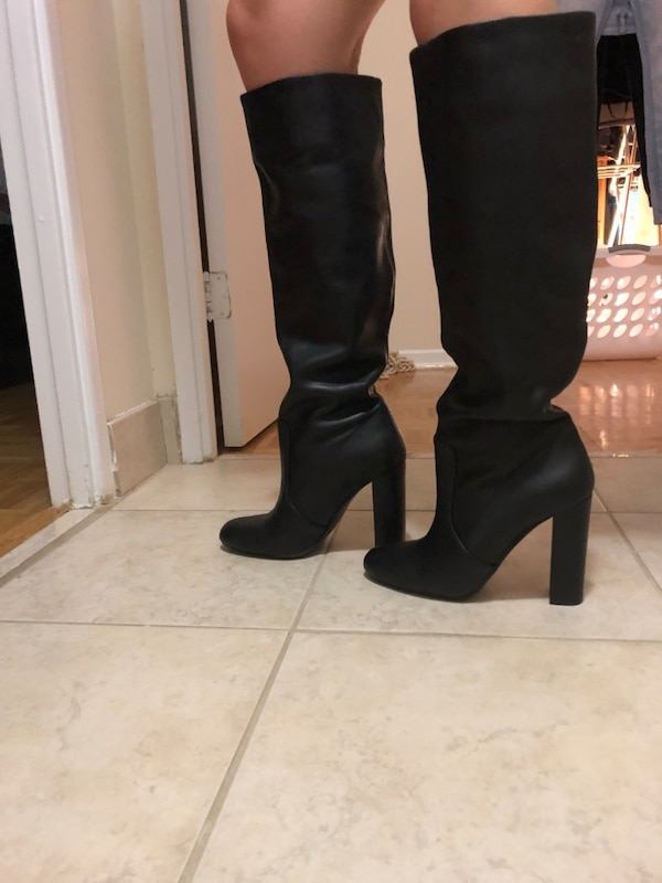 Steve Madden leather women boots  1