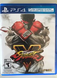 PlayStation 4 - street fighter 5 used but excellent condition Brampton, L7A 3M5